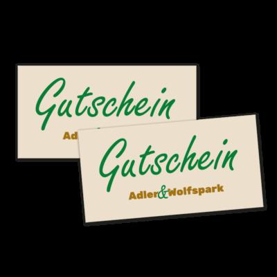 Gutschein Adler- und Wolfspark