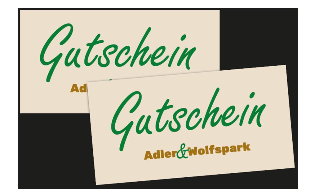 Gutscheine Adler- und Wolfspark